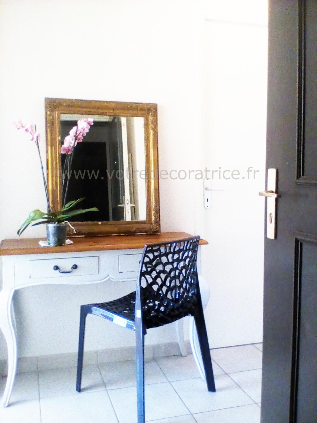 home staging d 39 un appartement en vaucluse votre d coratrice. Black Bedroom Furniture Sets. Home Design Ideas