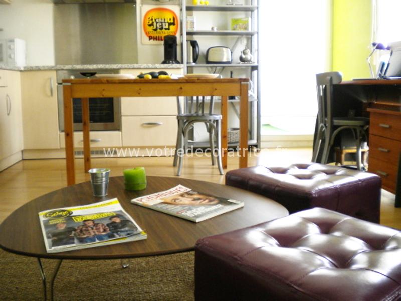 agencement et d coration int rieure compl te d 39 un appartement sarthe votre d coratrice. Black Bedroom Furniture Sets. Home Design Ideas